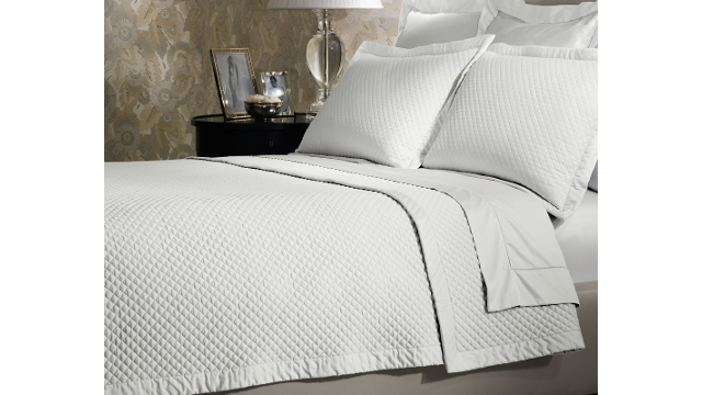 Wyatt King Quilted Coverlet