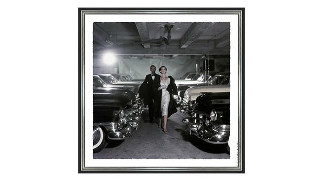 Couple in Parking Garage