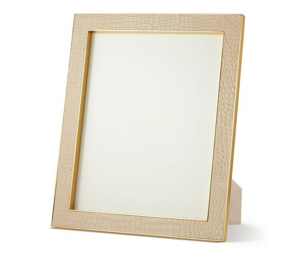 Classic Croc Leather Frame 8x10