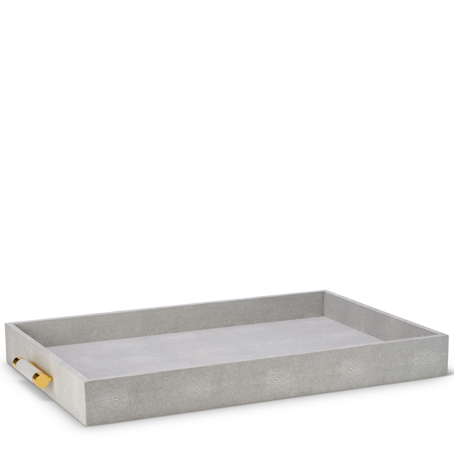 CLASSIC SHAGREEN BUTLER TRAY (DOVE)