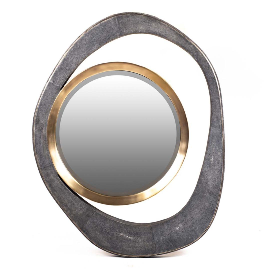 Peacock Mirror (L)