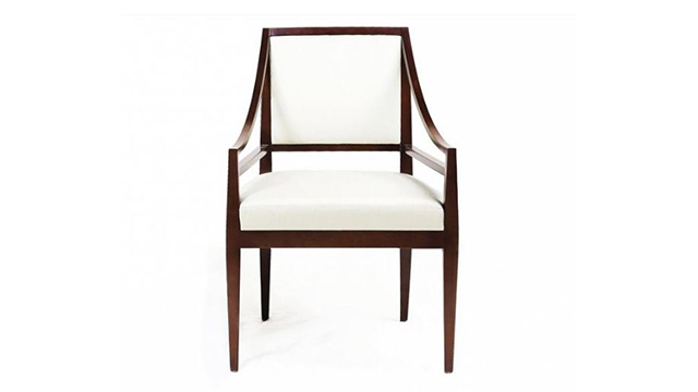 Rosenau Upholstered Back Arm Chair