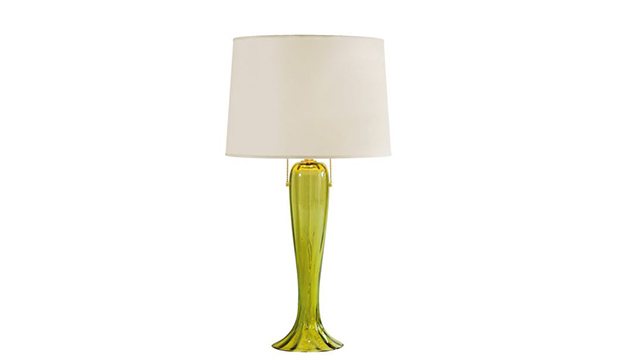 Draped Lamp Verde