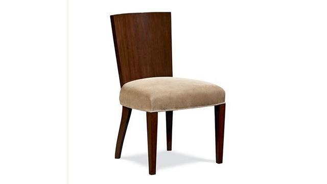 Modern Hollywood side chair