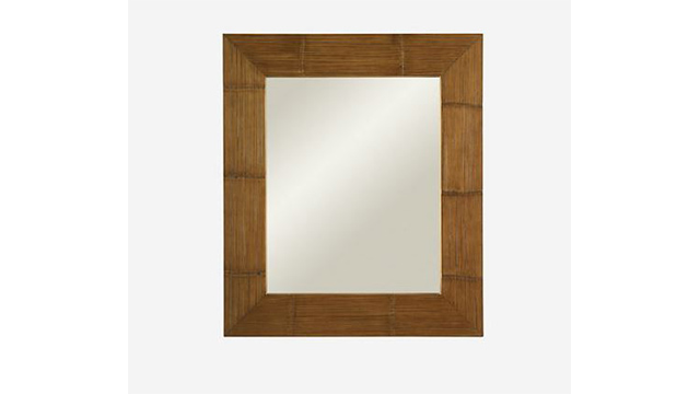 Crushed Bamboo mirror