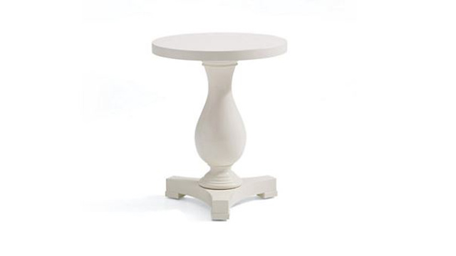 One Fifth Pedestal End Table