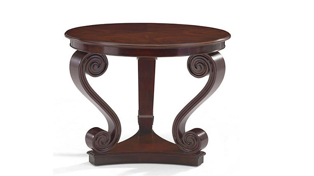 One Fifth Scroll End Table
