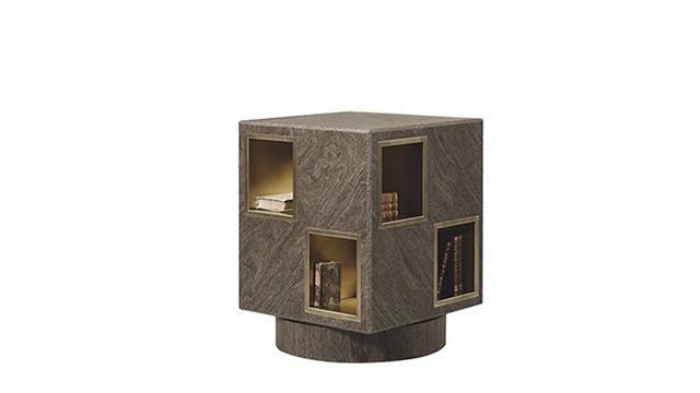 Meryl revolving bookcase